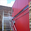 Galvanized Industrial Stairways - Landings