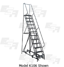 301 rotating rolling ladder
