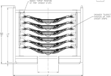 Engineering CAD DWG - Stack Rack Holding Product For Auto Industry Application