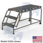 EGA Products rolling ladder platforms