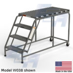EGA Products rolling ladder platform