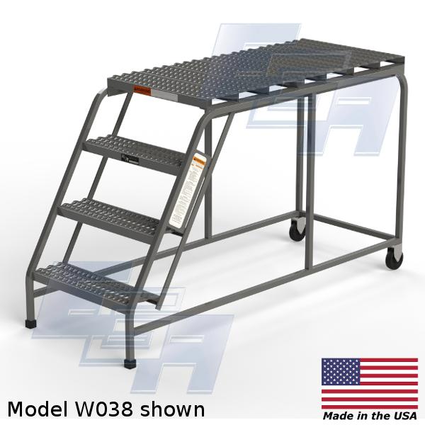EGA Products rolling ladder platform