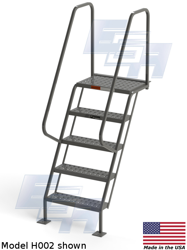 model h002 industrial staircase