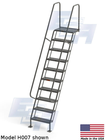 h007 industrial staircase EGA Products