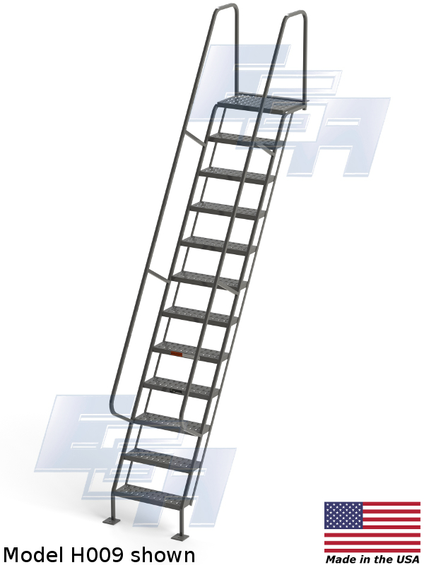 h009 industrial staircase