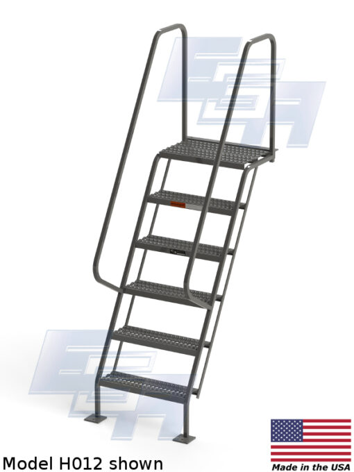 All-Welded Access Stairways – Grip Strut