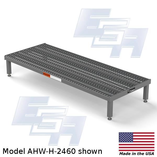 large work platform steel