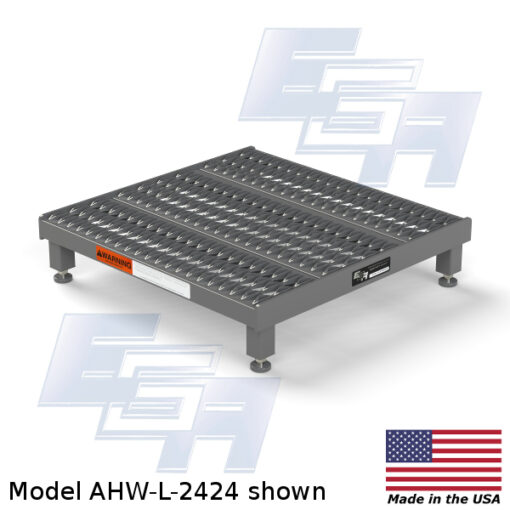 One-Step Adjustable Height Platforms (AHW – SERIES)