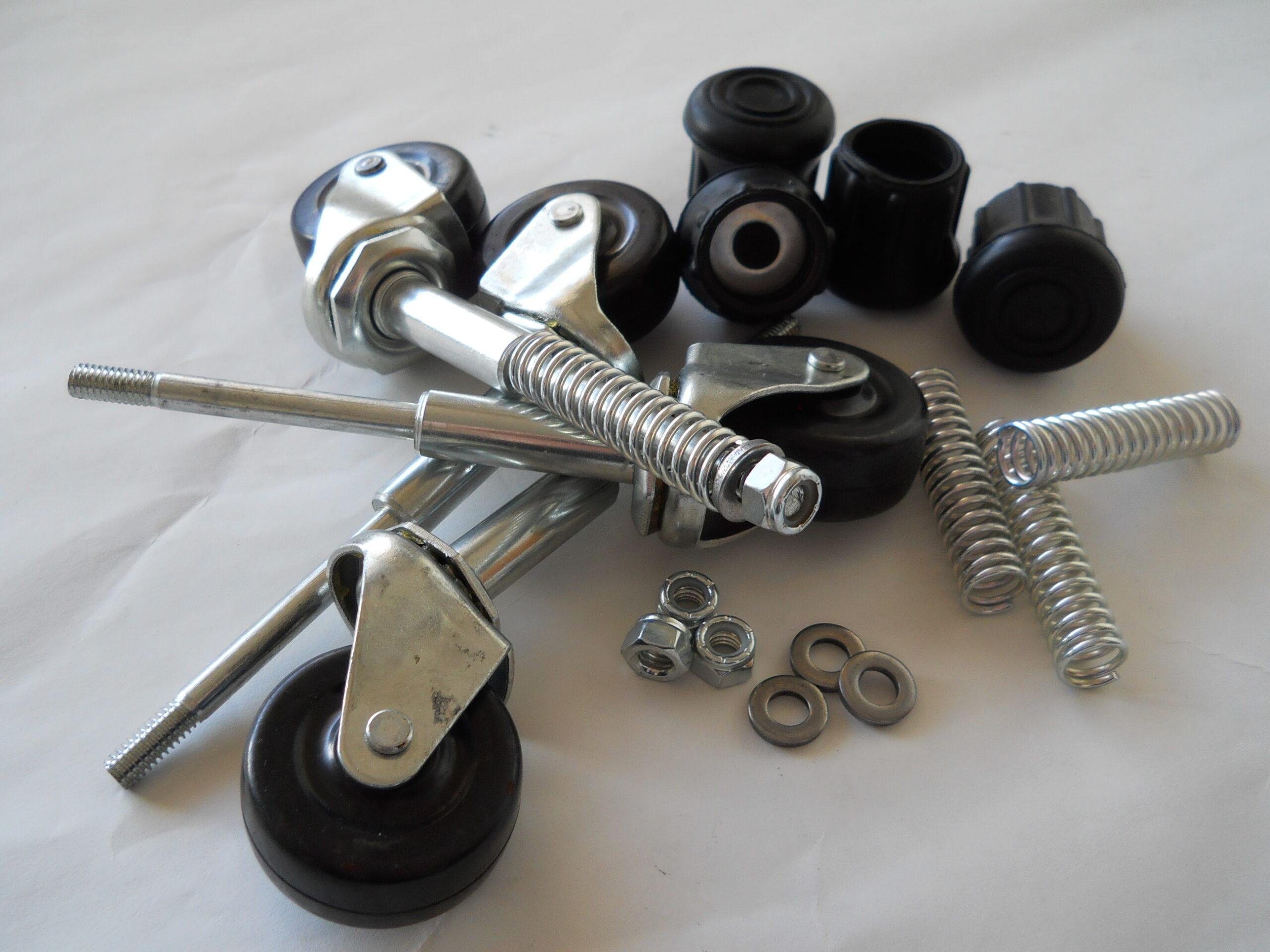 """Replacement Ladder 2"""" Caster Kit for Older Models EGA Products"""