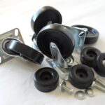 CK4D Replacement ladder caster kit 4 inch casters