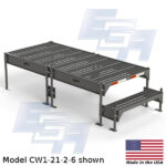 CW1-21-2-6-WM custom work platform