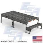 CW1-21-2-6-WM custom work platform