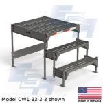 CW1-33-3-3-WM custom work platform