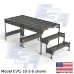 CW1-33-3-6-WM custom work platform