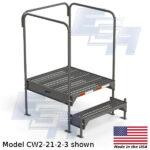 CW2-21-2-3-WM custom work platform