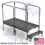 CW2-21-2-6-WM custom work platform