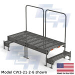 CW3-21-2-6-WM custom work platform