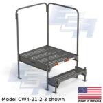 CW4-21-2-3-WM custom work platform