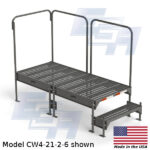CW4-21-2-6-WM custom work platform