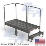 CW4-21-2-6-WM custom work platform