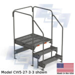 CW5-27-3-3-WM 3 step work platform