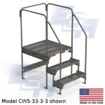 CW5-33-3-3-WM custom work platform
