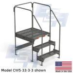 CW5-33-3-3-WM custom work platform