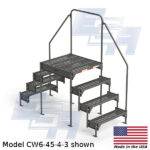 CW6-45-4-3-WM industrial cross over platform