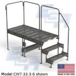 EGA Products work platform ladder