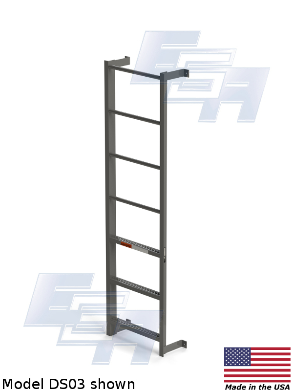 side step wall ladder