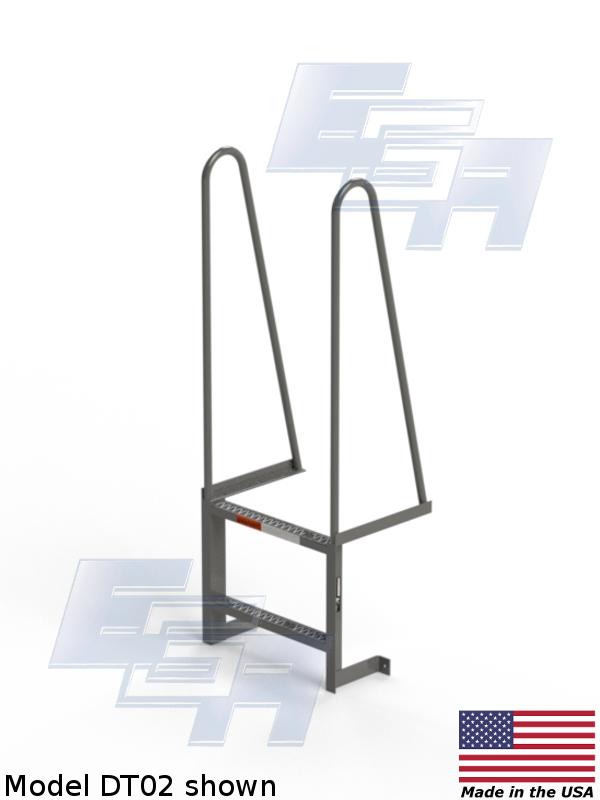 Walk Thru Ladder : Walk through dt ladder ega products inc