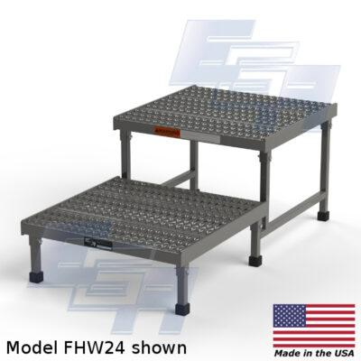 fhw24 2 step work platform