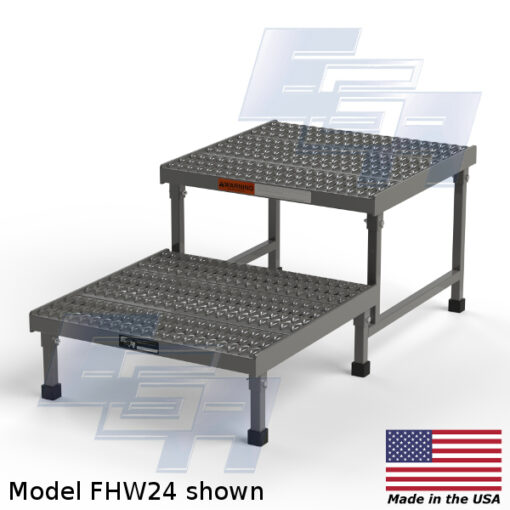 Two-Step Access Platforms (FHW – SERIES) [Made in the USA]