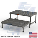 model fhw36 2 step access platform