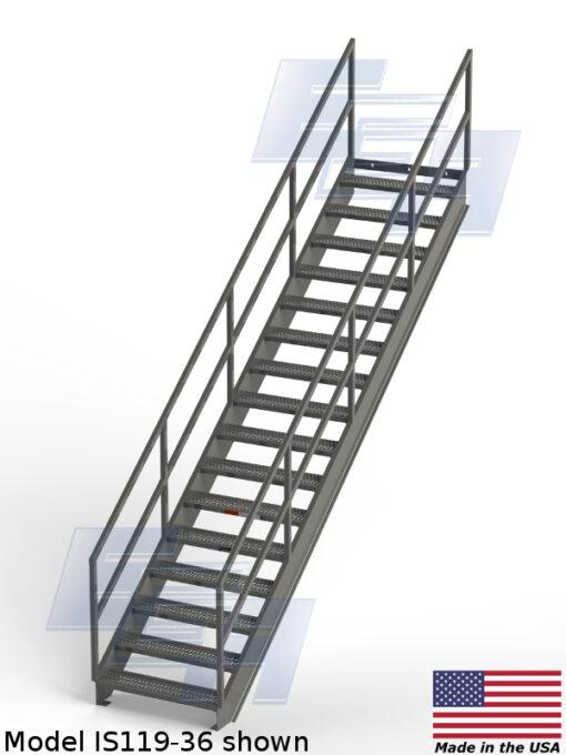 Industrial Stairways ∠36.4º (IS – SERIES)