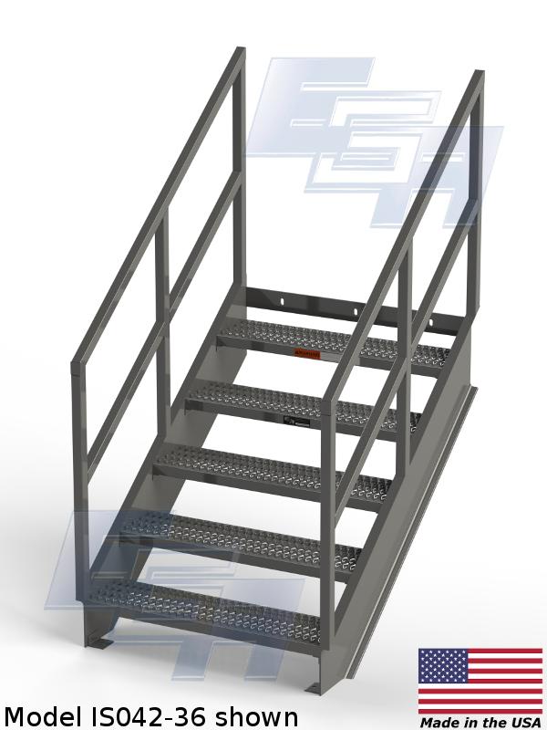 Industrial Stairways 36 4 186 Is Series