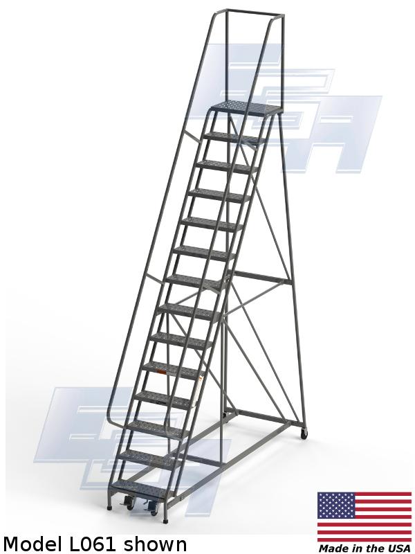 tallest rolling ladder