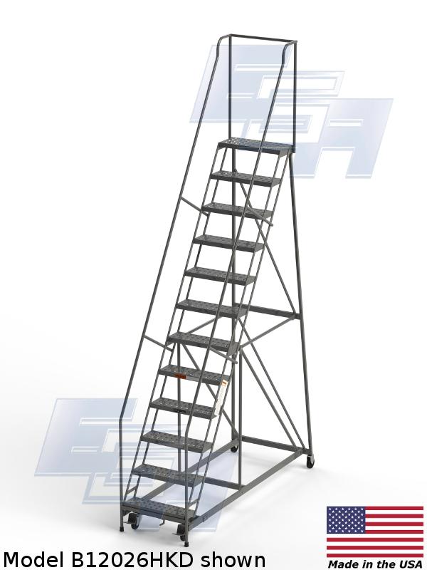 model b12026hdk rolling ladder