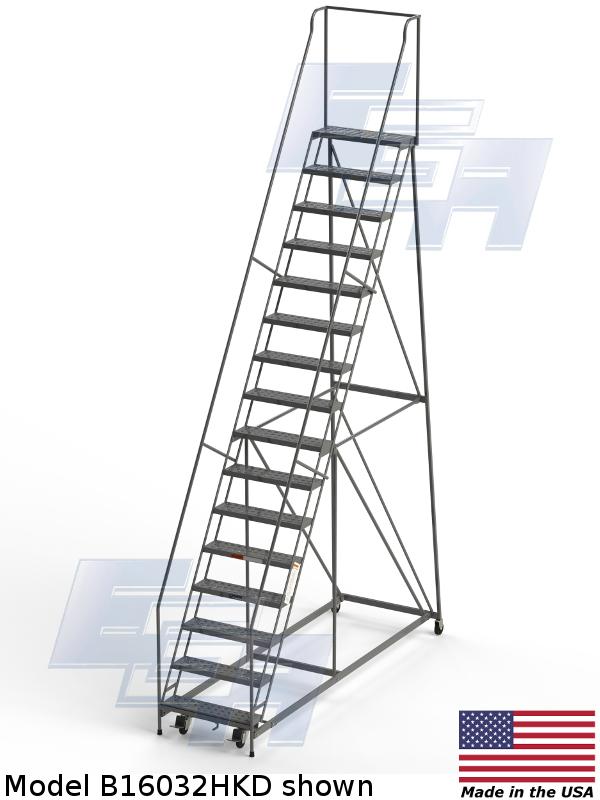 model b16032hdk rolling ladder
