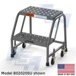 MB2020SU-WM 2 step rolling stool