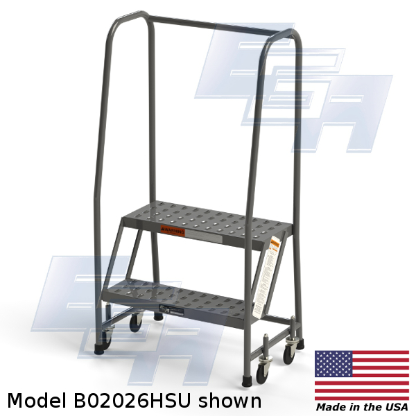 b02026hsu 2 step rolling ladder