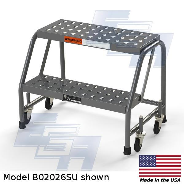 b02026su 2 step rolling ladder