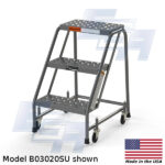 b03020su 3 step rolling ladder