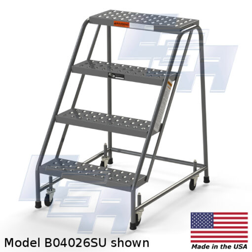 Industrial Rolling Ladders – Set Up – EZY Tread