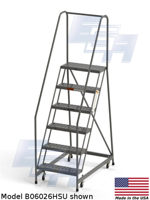 Industrial Rolling Ladders – Knocked Down – EZY Tread
