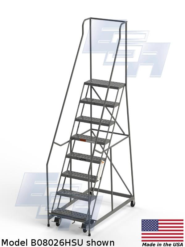 b08026hsu American made rolling ladder