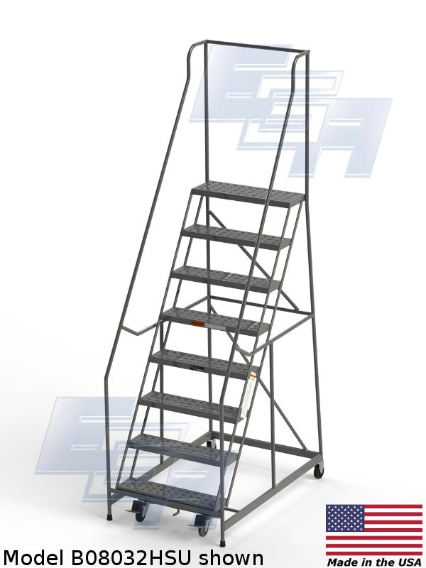 b08032hsu American made rolling ladder