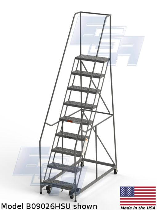 Industrial Rolling Ladders – Set Up – Grip Strut
