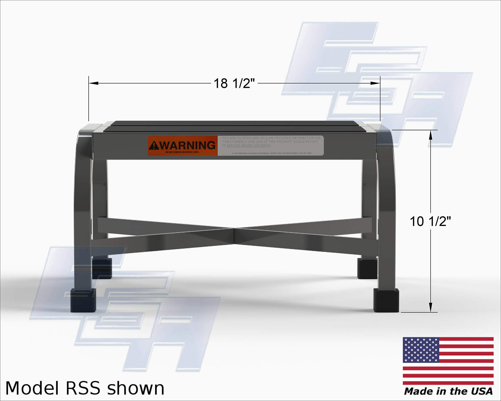 Steel Step Stool S Pss Amp Rss Series