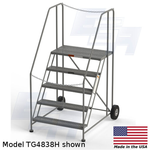 Industrial Truck Rolling Ladder (TG-series)  [Made in the USA]